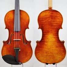 Master Violin!Antonio Stradivari 1704 Copy!Strong and DeepTone!Free Shipping!AUBERT Bridge!Dominant 135B Strings цена