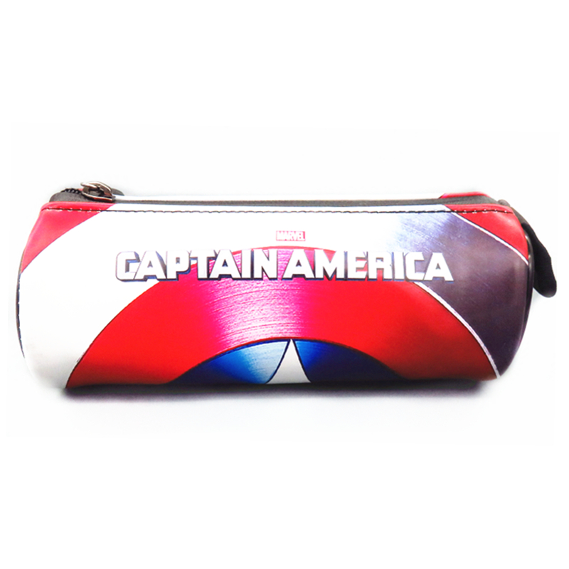 Anime Kapten Amerika 3 Iron Man Superman Wallet Coin Colour Purse - Dompet