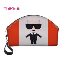 Thikin karl Lagerfelds Makeup Box for Women Girls Cosmetic Bags Travel Handbag Case Pouch Rock Storage Purse