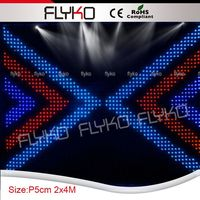 concert stage background led display led vision curtain cloth