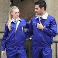 new arrival Set of Long-sleeve Coat+ Jacket  mechanic uniform electrician uniform raining uniform workwear autumn