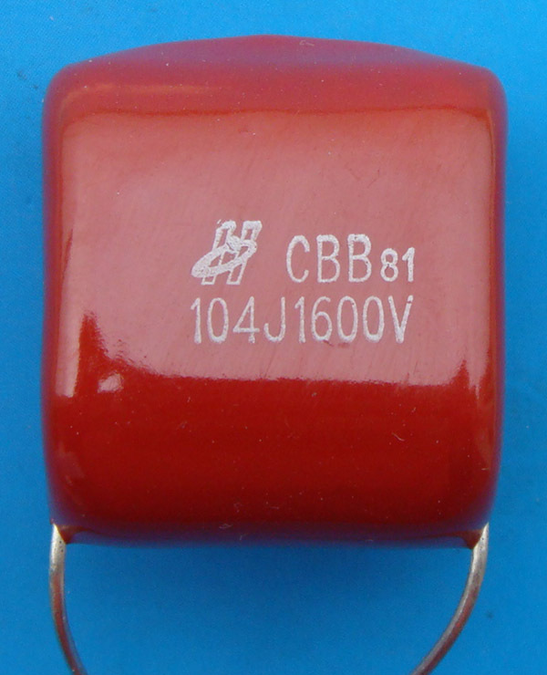 Free Delivery. CBB81 Are Metallized Poly Propylene 1600 V 104 0.1 UF Membrane Capacitor