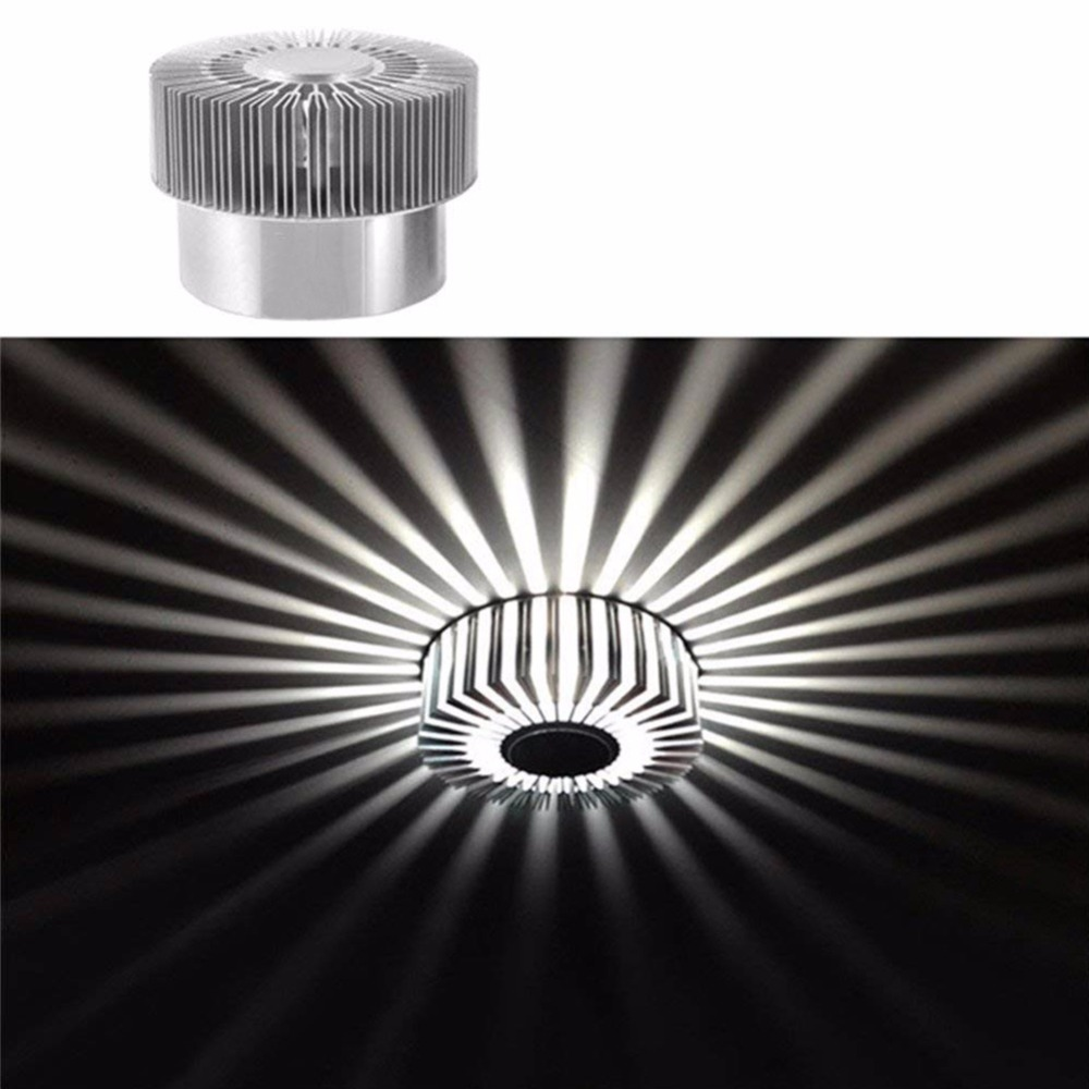 3 w LED Girassol Luz de Teto