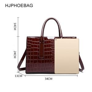Image 2 - Fjphoebag جديد التمساح نمط المرأة حقيبة يد المرأة حقيبة ساع حقائب كتف Crossbody المرأة حقيبة يد جلدية YC196