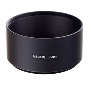 Image 1 - 72mm 72 Professional Telephoto Metal Lens Hood 72mm Screw In 72mm Filter Thread