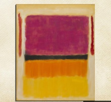 Mark Rothko Still life Classical oil Painting Drawing art Unframed Canvas wire airbrush figure gemstone