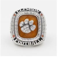 Free Shipping 2016 CLEMSON TIGERS ACC FOOTBALL CHAMPIONSHIP RING Solid Size 11 Fan Brithday Souvenir Gift