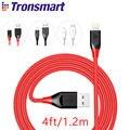 [MFi Certified] Tronsmart Relâmpago Cabo 4ft/1.2 m para iPhone 5 \ 5S \ 6 \ 6 mais \ Além de 6S \ 6 S \ 7 \ 7Plus \ SE 19AWG Dupla Trançada de Nylon