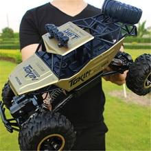 1/12 Радиоуправляемая машина 4WD альпинистская машина 4x4 с двумя моторами, машинка Bigfoot с дистанционным управлением, модель внедорожника, игрушки для мальчиков, детский подарок