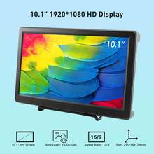 Elecrow 101 дюймовый hd светодиодный дисплей 1920x1080p ips