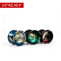 Free shipping Ball Bearing ACMEJOY scorpio Version Alloy Aluminum yo yo Metal Professional Auldey Yo Yo Toy