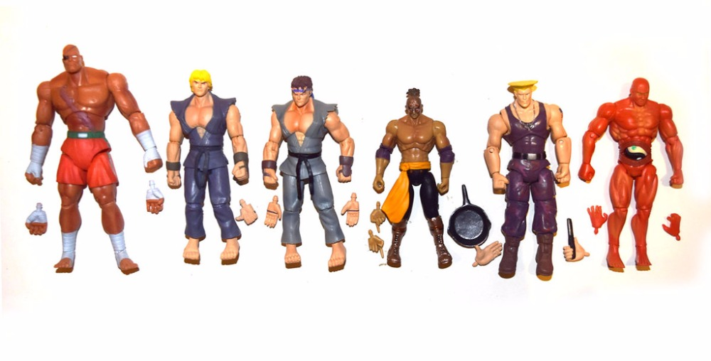 Back To Search Resultstoys & Hobbies Jazwares Street Fighter Ryu Ken Guile El Fuerte Abel Sagat 3.75action Figure Possessing Chinese Flavors