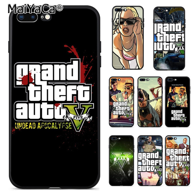 coque iphone 7 gta