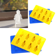 New Arrive Unique DIY Ice Cube Tray Chocolate Ice Mold Maker Bar Party Drink  Man Style