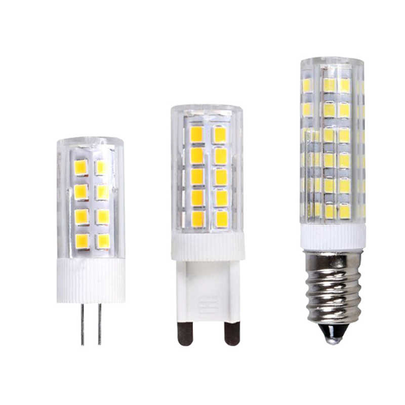 1-10X 2019 LED Lamp G4 G9 E14 LED Spotlight 220V 5W 7W 9W 12W LED Light Warm/Cool White LED Bulb for Crystal Chandelier Lights