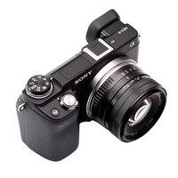 35mm F 1.2 Prime APS C Aluminum Manual Lens for Sony A6500 A6300 A6000 A5100 A5000 NEX 6 EX 5 NEX 5c E Mount Mirrorless Cameras