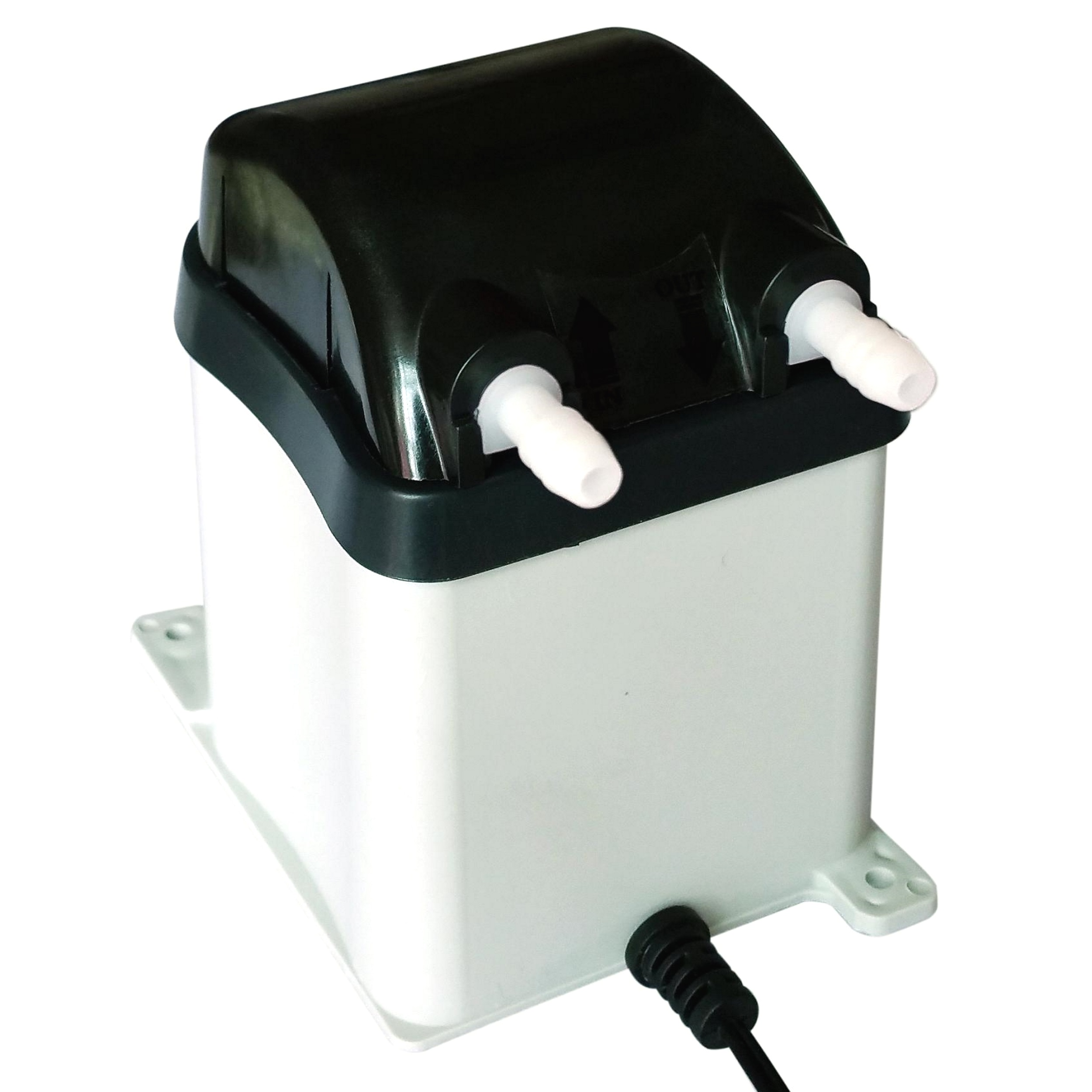 800ml/min, 2 Rollers, Honlite 12V Peristaltic Pump with Enhanced-Exchangeable Pump Head and PharMed BPT Peristaltic Tube