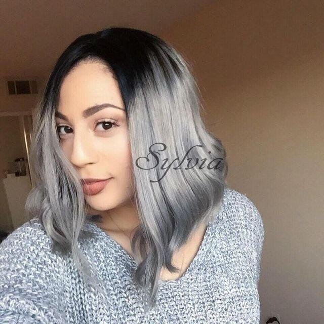Pelo corto en gris
