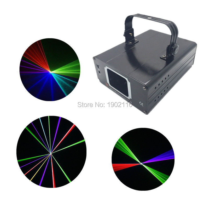 DHL Fedex Free Shipping DMX Multi color RGB laser light/dj lighting/stage light/ laser light/laser projector/Linear Beam Effect mp620 mp622 mp625 projector color wheel mp620 mp622 mp625