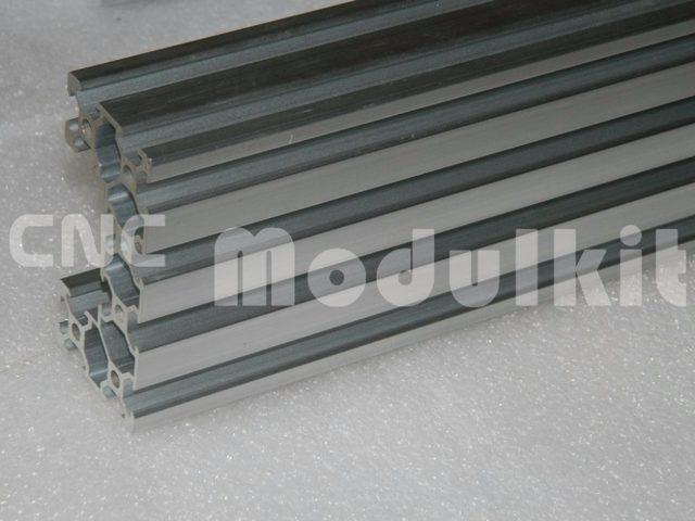 3D Printer C Beam 4080U V Slot Aluminum Profile Black CNC Router Frame Extrusion Device Equipment Construction CNC MODULKIT