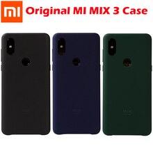 Original xiaomi mi mix 3 4g caso capa traseira pintura pc xiaomi mi mix3 capa coque ultra fino à prova de choque xiaomi mi mix 3 caso