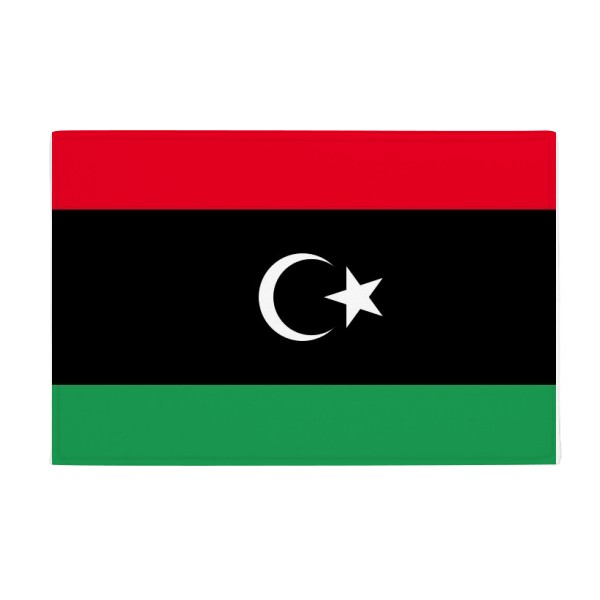 Libya National Flag Africa Country Anti-slip Floor Mat Carpet Bathroom Living Room Kitchen Door 16x30Gift