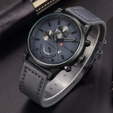 Relogio Masculino Curren Quartz Watch Men 2017 Top Brand Luxury Leather Mens Watches Fashion Casual Sport Clock Men Wristwatches