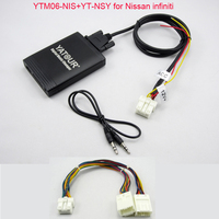 Yatour USB MP3 AUX SD Player For Nissan Infiniti FX35 Stereo Radio With Navigation Function Include YT NSY Y Adapter Cable