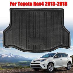 Dla Toyota RAV4 2013 2014 2015 2016 2017 2018 wysokiej jakości tylna mata bagażnika podkładka podłogowa wkładka do bagażnika wodoodporna w Dywaniki od Samochody i motocykle na