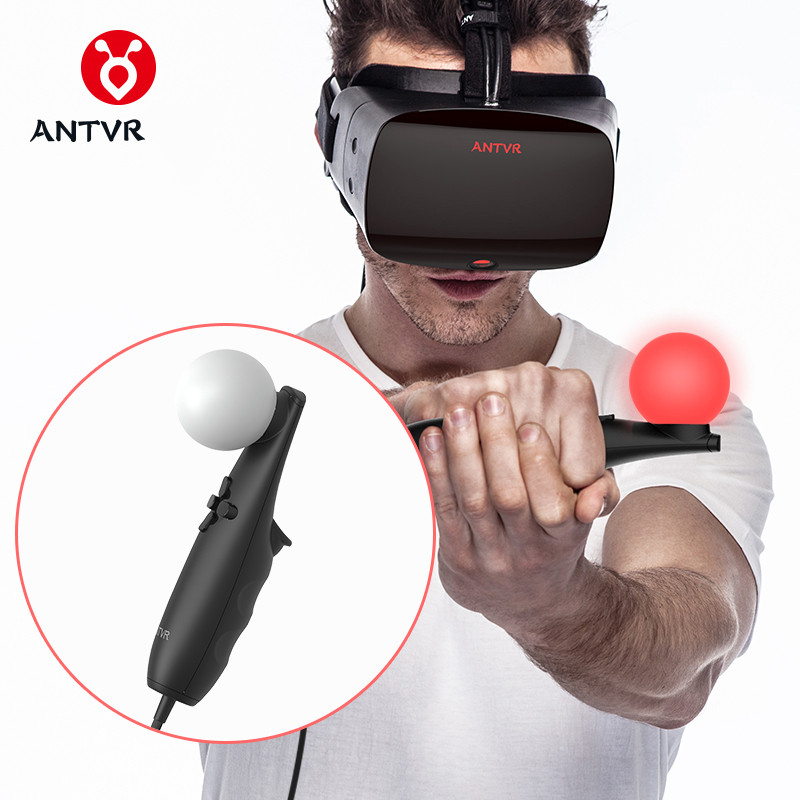 Free shipping Original 2pcs/lot ANTVR VR USB Remote Game Controllers for ANTVR VR Cyclop Helmet Headset Virtual Reality Glasses chinese language learning book a complete handbook of spoken chinese 1pcs cd include