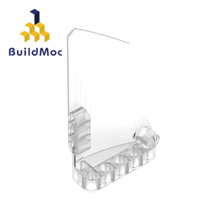 BuildMOC Compatible Assembles Particles 64392 5x11 A For Building Blocks Parts DIY LOGO Educational Gift Toys