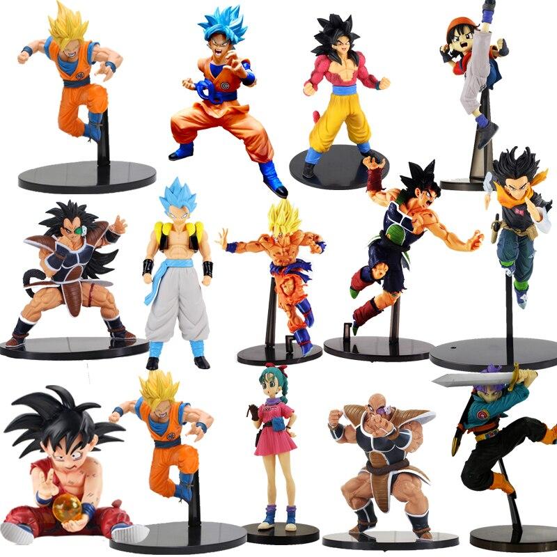 8CM-30cm Dragon Ball Z SCultures Big Budoukai Series Action Figure Lazuli Nappa Raditz Goku Trunks Vegeta Satan Collection Model