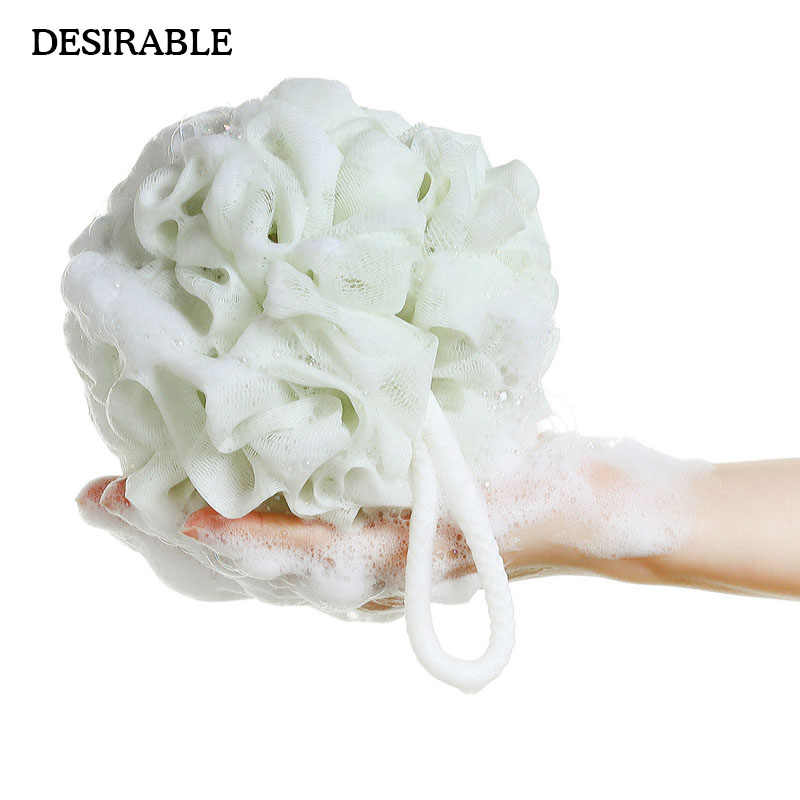 big size  bath ball Flower  bath tubs scrubber Body cleaning With Exfoliate Puff Spa Mesh Shower wash  product High Quality