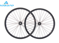 27.5er 650b plus hookless carbon mtb wheelset width 40mm tubeless mountain bike thru axle wheelset front 12*110 rear 12*148