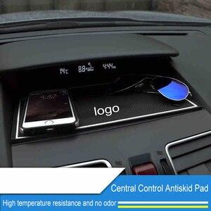 QHCP нескользящий коврик для приборной панели, автомобильный орнамент, силиконовые противоскользящие липкие накладки, держатель для телефон...