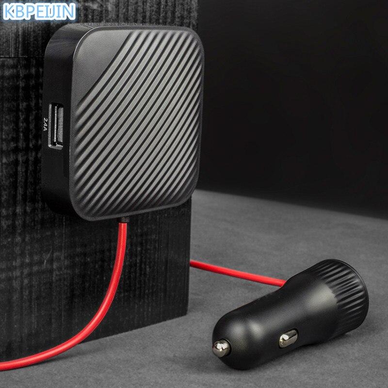 Adaptateur rapide de siège avant et arrière de voiture USB avec câble d'extension pour Peugeot 307 308 207 3008 2008 407 508 206 208 accessoires
