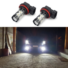 H11 H8 H10 H16 5202 PSX24W 880 881 H27 LED Car Fog Light DRL Bulb For BMW E60 E39 E46 E30 E90 E34 E38 F30 F10 E53 X5 X3 F15 F16