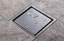 Мода плитка вставки площади пола отходов решетки ванной душ 150 X 150 мм или 110 X 110 мм, 304 из нержавеющей стали