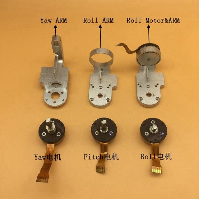 100%ต้นฉบับผี3 3จุด/3A/3วินาที/3SEสนามโรลหันเหมอเตอร์ม้วนหันเหแขนยึดซ่อมอะไหล่สำหรับDJIผี3ชุด