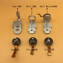 100% original phantom 3 p/3a/3 s/3se pitch rolo do motor da guinada do rolo braço suporte peças de reparo para dji phantom 3 series