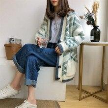 Single-Breasted Sweater Cardigan