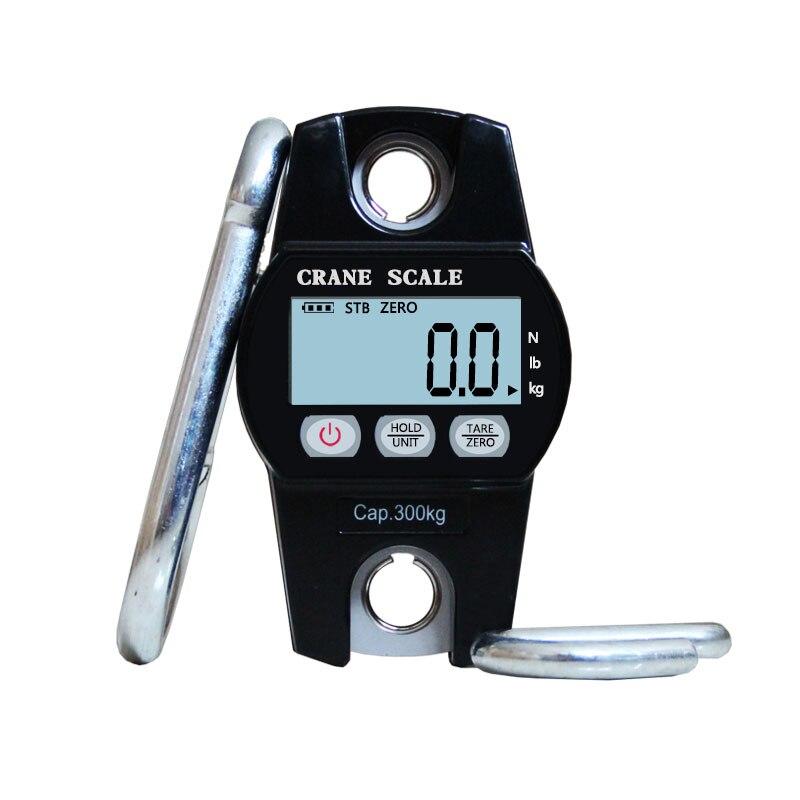Haute qualité 300KG Mini Balance de grue numérique bagages Balance de pêche Balance de poids de poche crochet suspendu balances électroniques de grue