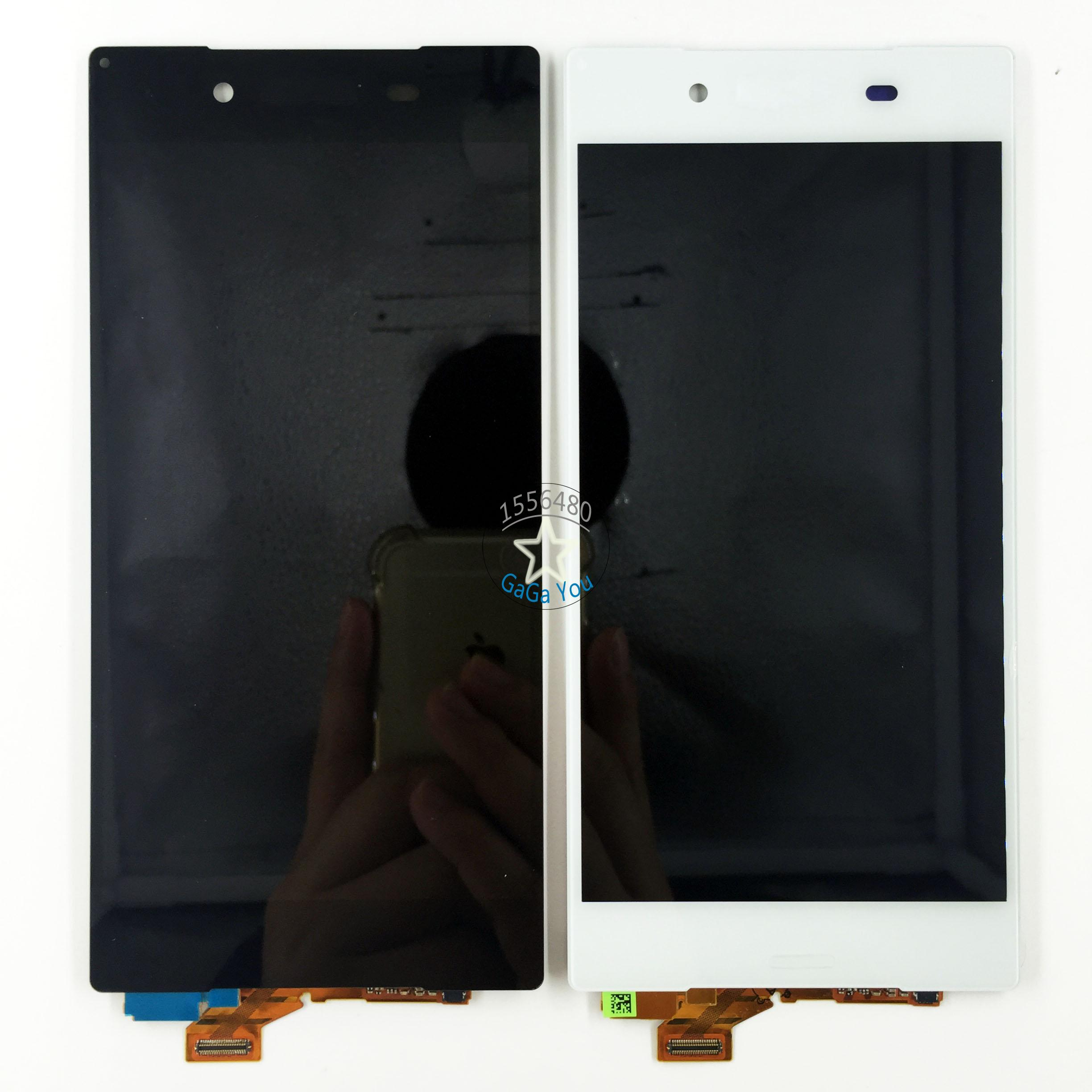 ФОТО High Quqlity LCD Display Touch Screen Digitizer Assembly For Sony Xperia Z5 E6603 E6653 E6683 LCD Screen Replacement Parts