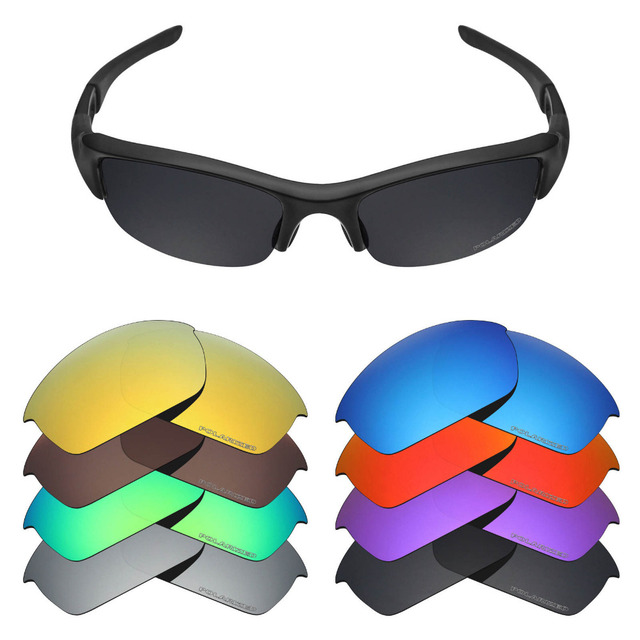 37b7cdce55 Mryok Polarized Replacement Lenses for Oakley Flak Jacket Sunglasses Lenses( Lens Only) - Multiple Choices