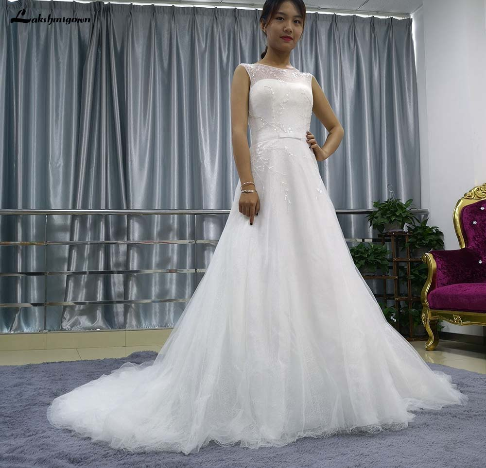 Aliexpress.com : Buy In Stock Cheap A Line Wedding Dress