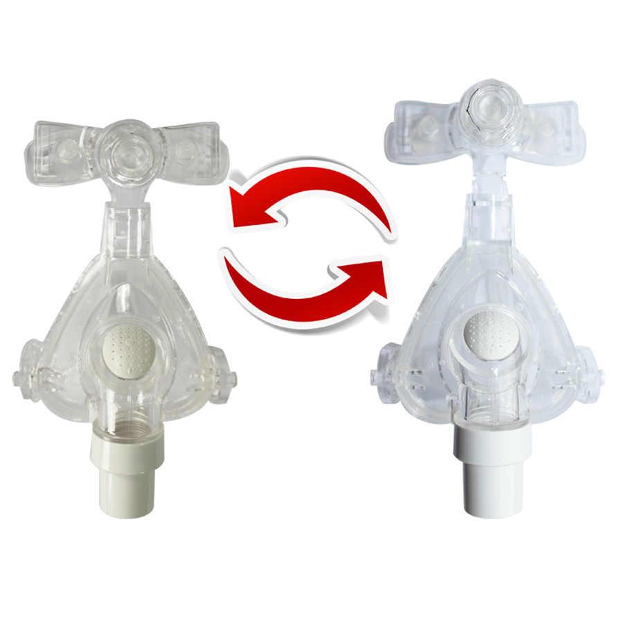 Idunmed CPAP Maskesi NM5 Burun Maskesi Ayarlanabilir Kayışlar Başlık Solunum Maskesi Uyku Apnesi Burun Anti Horlama Tedavisi