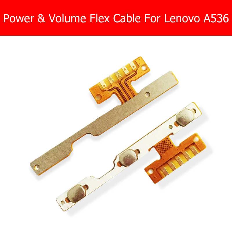 אמיתי כוח ונפח Flex כבל עבור Lenovo A536 צד מפתח כפתור מתג עבור Lenovo A536 אודיו בקרה להגמיש כבל החלפה