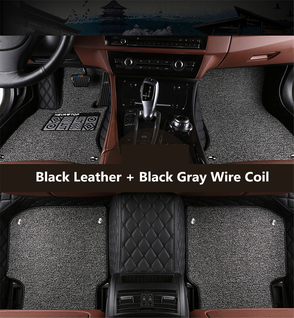 Auto Floor Mats For Toyota FJ CRUISER 2007 2016 Foot Carpets Car Step Mat HighQuality Embroidery