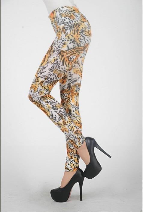 High Waist Tiger Legging Lady Fashion Animal Printed -2821