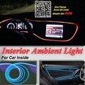 Para Subaru Legacy/Liberty/B4 Ambiental Interior Del Coche Luz Panel de iluminación Para El Interior Del Coche Fresco Tira de Fibra Óptica de Luz de Banda